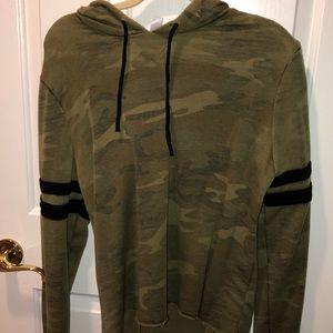 Army Styled Light  Sweat Shirt